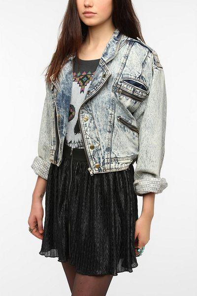 Urban Outfitters Urban Renewal Vintage 80s Denim Jacket In