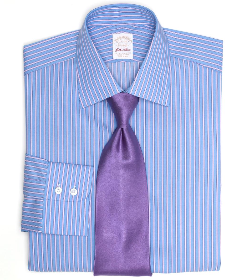 Brooks brothers golden fleece madison fit split frame for Brooks brothers dress shirt fit