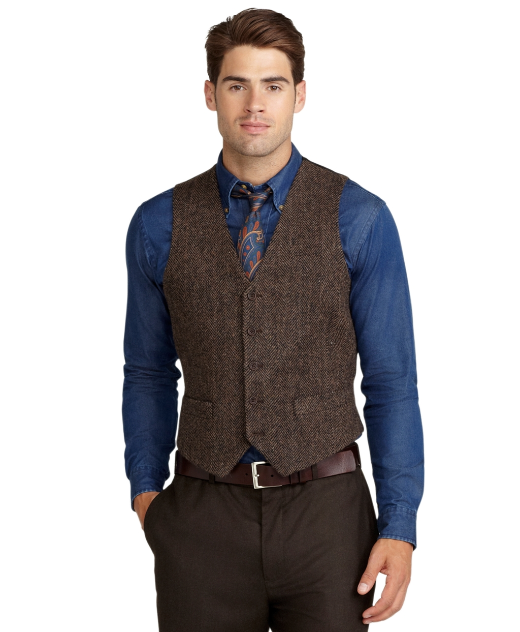 Men s Vest. Layer up with a men's vest! Check out Macy's selection of vests from top brands—think casual, work-ready, special occasion and cold-weather styles.