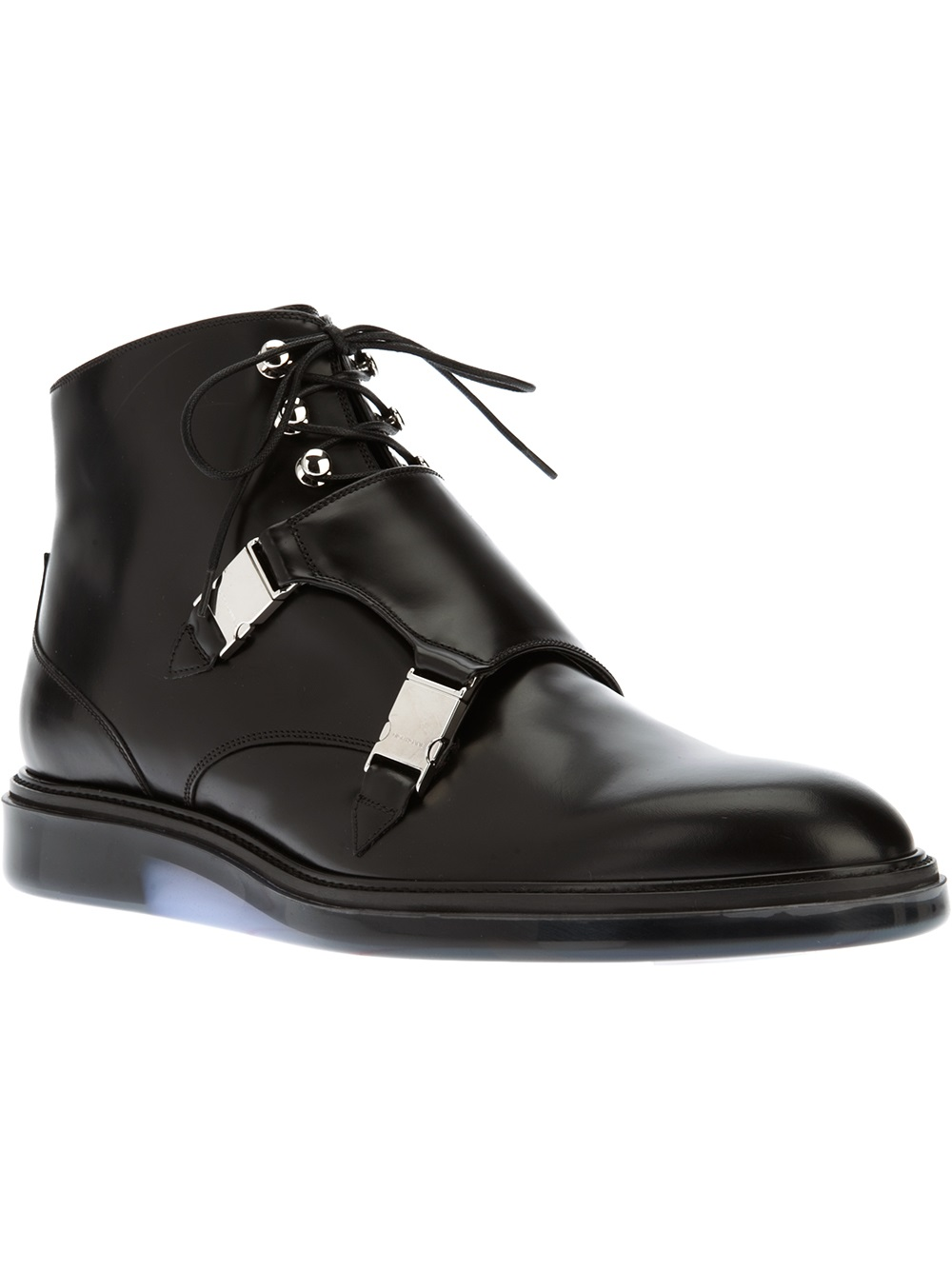 Dior Homme Laceup Shoe In Black For Men Lyst
