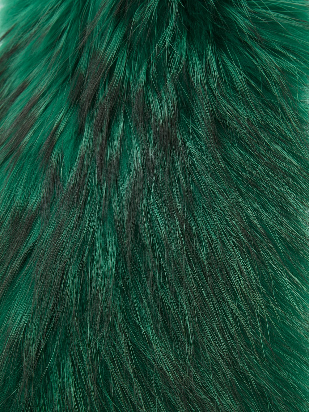 Lyst P A R O S H Fur Scarf In Green
