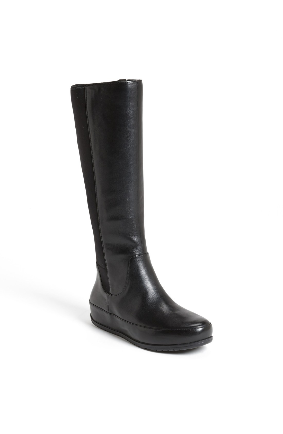 a51967376cb Fitflop Due Boot Tall Stretch Black