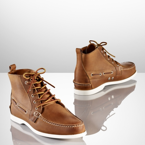 Ralph lauren Chukka Boot in Natural for Men | Lyst