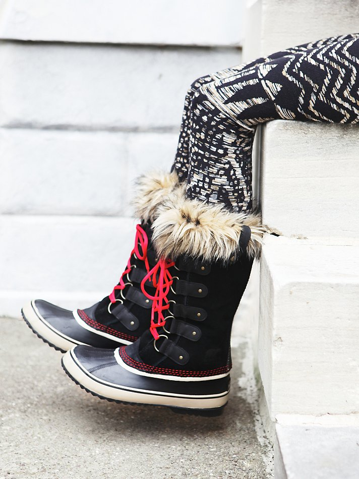 Lyst Sorel Joan Of Arctic Boot In Red