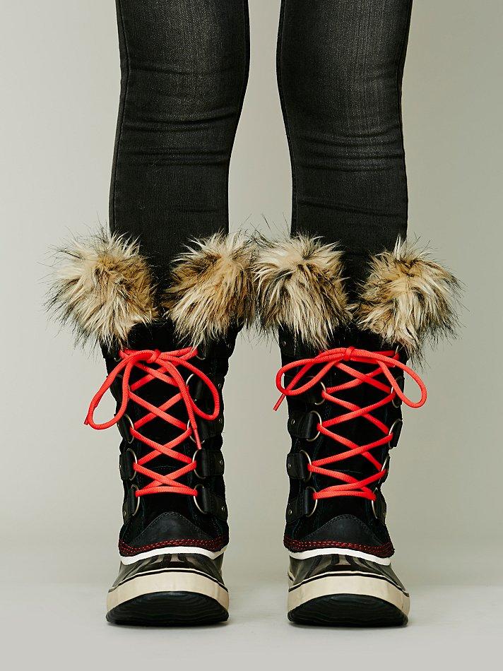 Lyst Sorel Joan Of Arctic Boot In Red