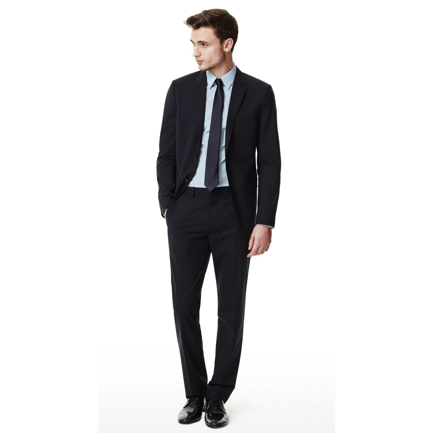 010becb4b1f3 Lyst - Theory Wellar Hc Suit Jacket In New Tailor Wool Bistretch in ...