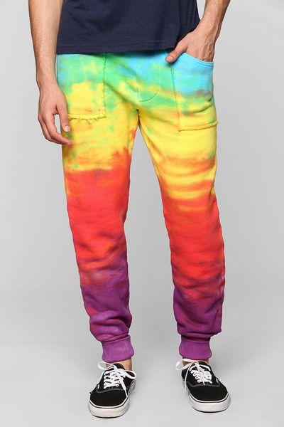 Urban Outfitters Mowgli Rainbow Sweatpant In Multicolor