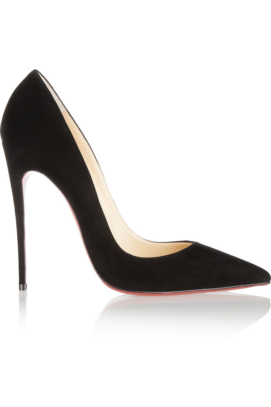 christian louboutin so kate 120 suede pumps in black lyst. Black Bedroom Furniture Sets. Home Design Ideas