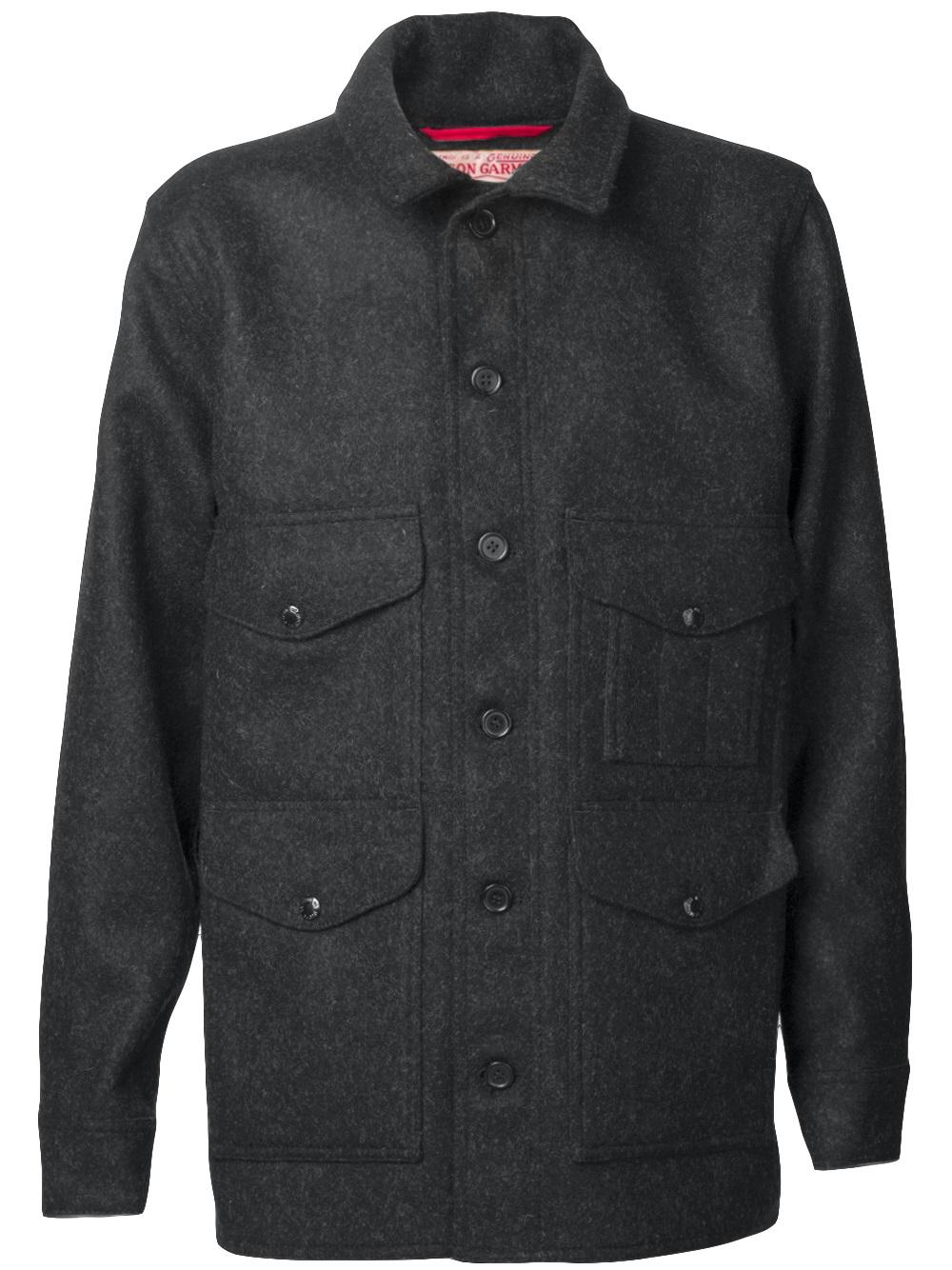 Filson Mackinaw Jacket In Gray For Men Lyst