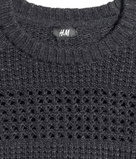 H&m Knitted Jumper in