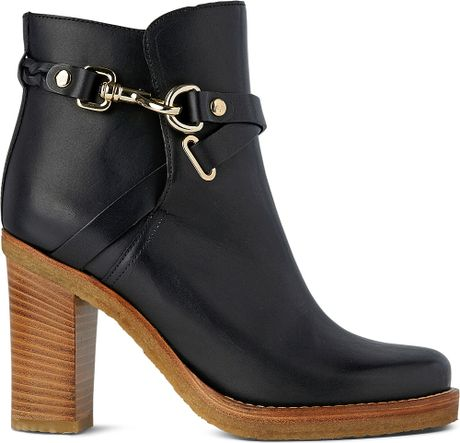Mulberry Dorset Ankle Boots In Black Lyst