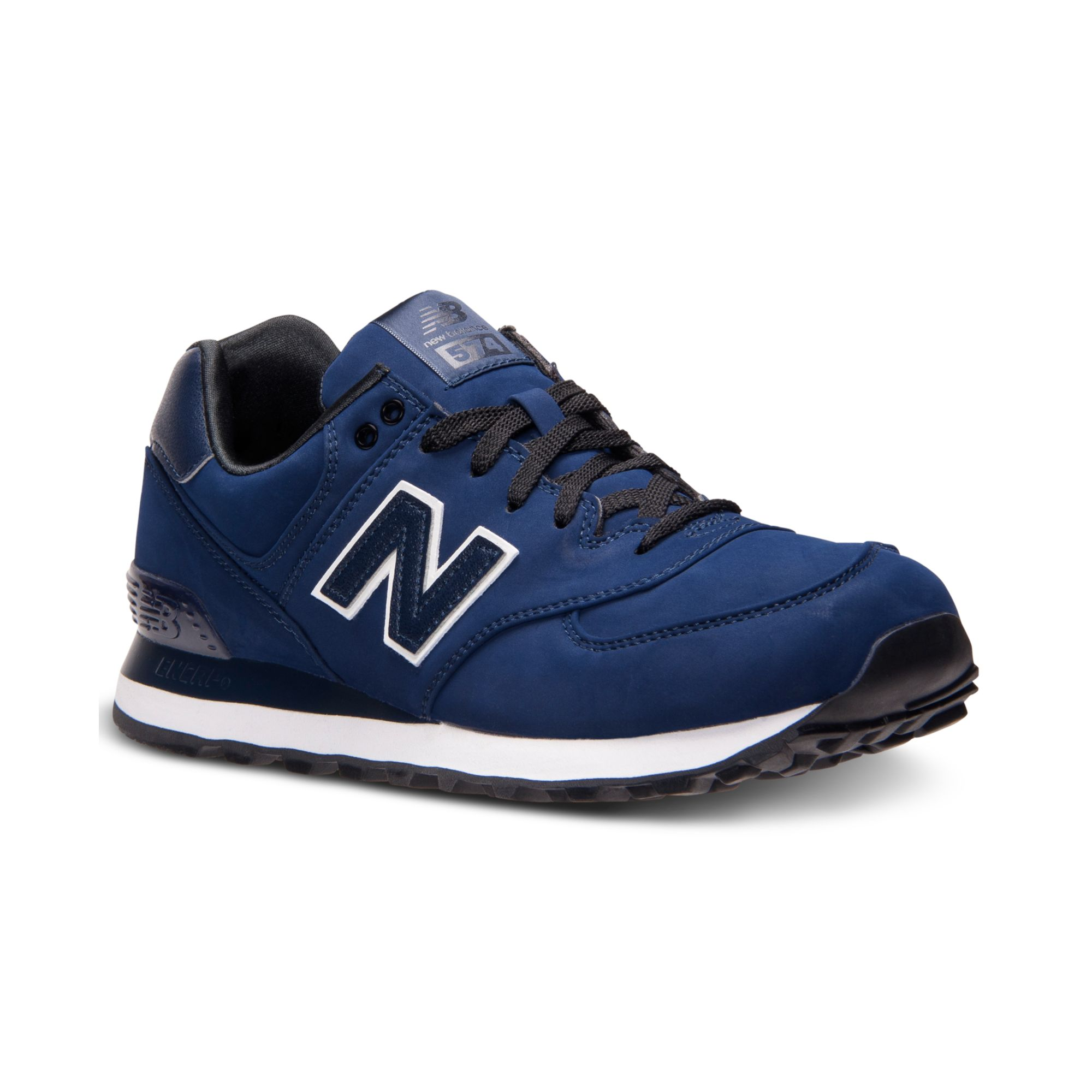 New Balance 574 Casual Sneakers In Blue For Men Lyst