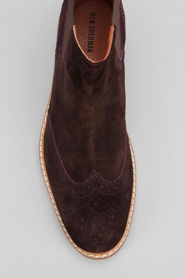 Tj S Ben Sherman Brogue Men Shoes