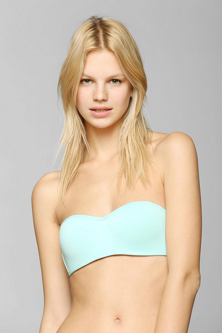 314564826c Lyst - Urban Outfitters Perfect Fit Strapless Pushup Bra in Green