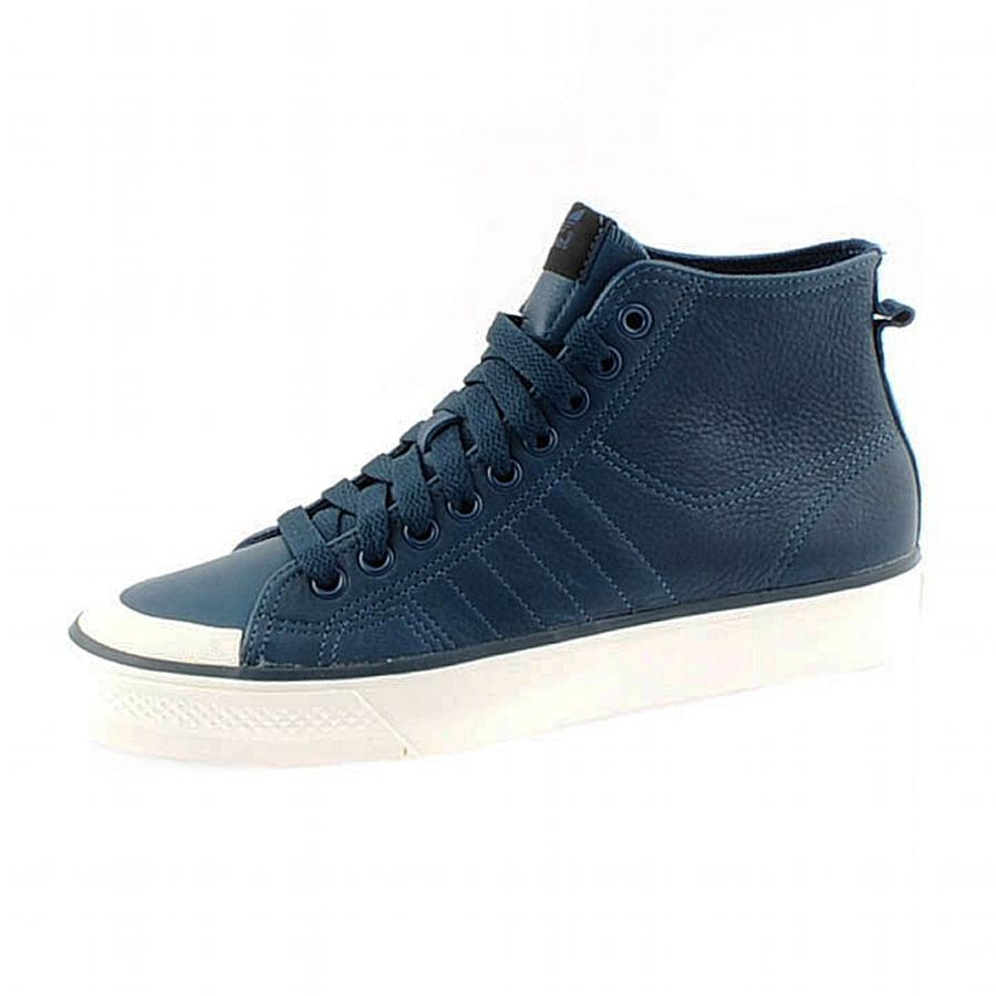 low cost 3b4dd 12f04 adidas Originals Nizza Classic 78 Hi Trainers in Blue for Men - Lyst