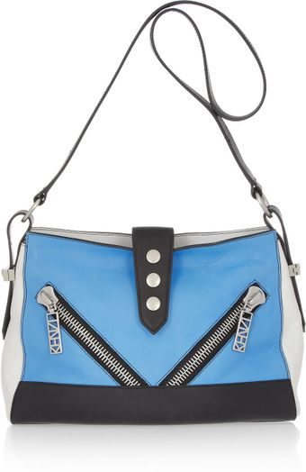 Kenzo Kalifornia Medium Leather Shoulder Bag - Lyst