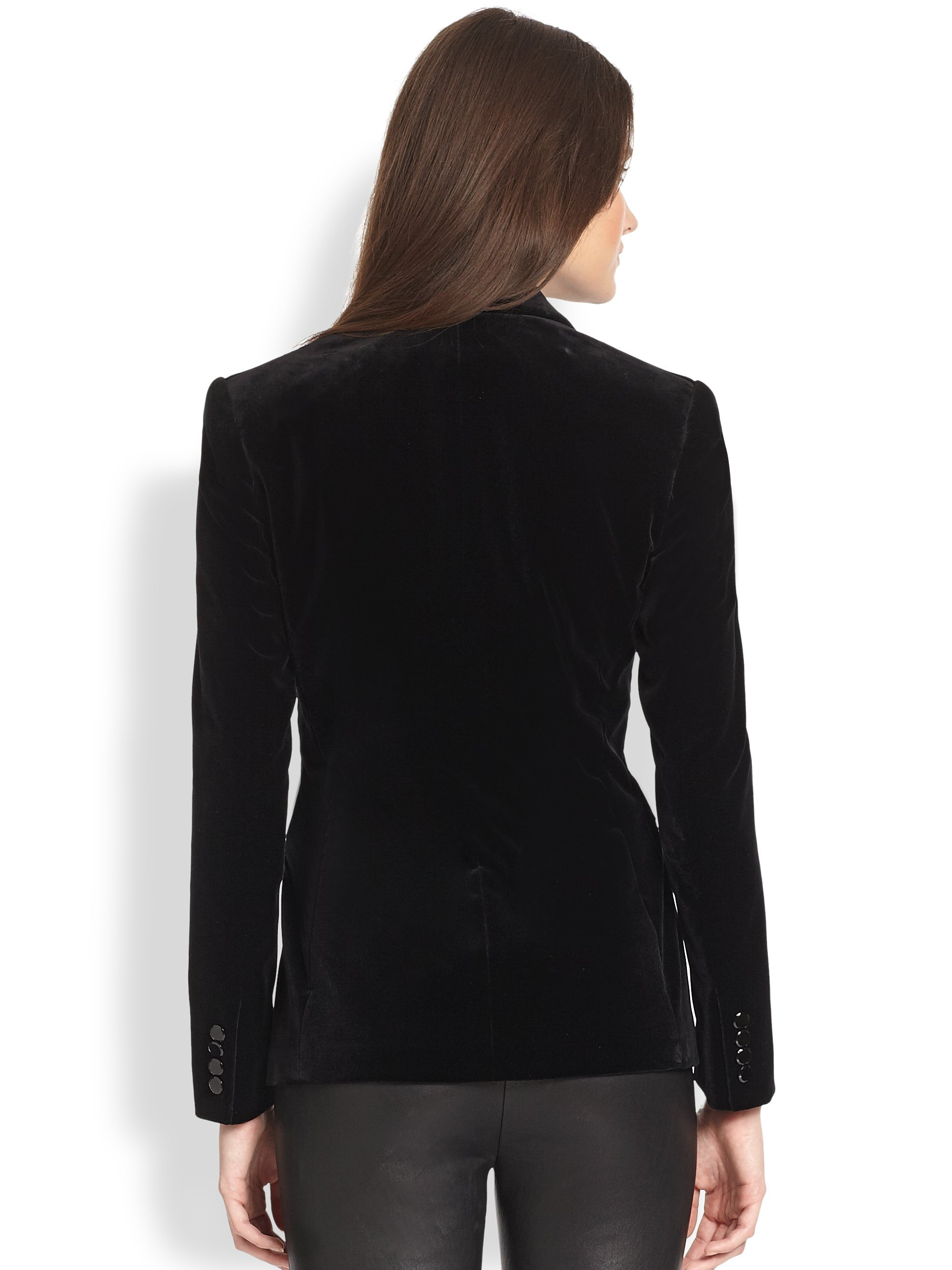 Black satin bomber jacket with embroidered patches 001984