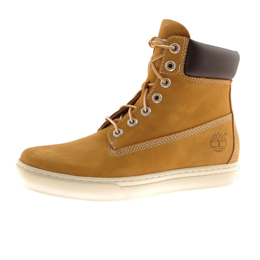 timberland 20 newmarket 6inch cupsole boot in brown for