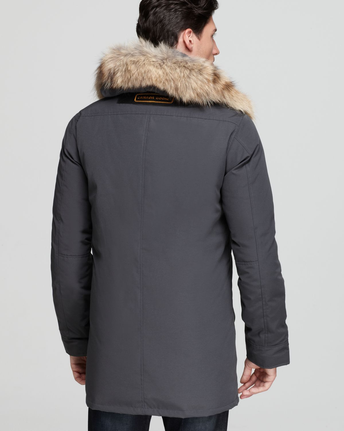Canada Goose vest outlet authentic - Canada goose Chateau Parka with Fur Hood in Gray for Men (Graphite ...