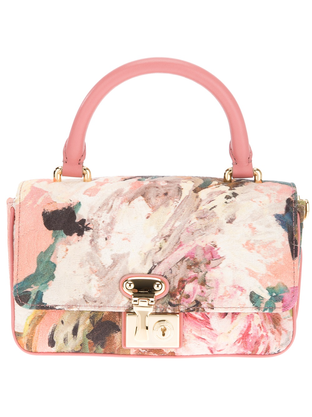 Dolce & gabbana Floral Shoulder Bag | Lyst