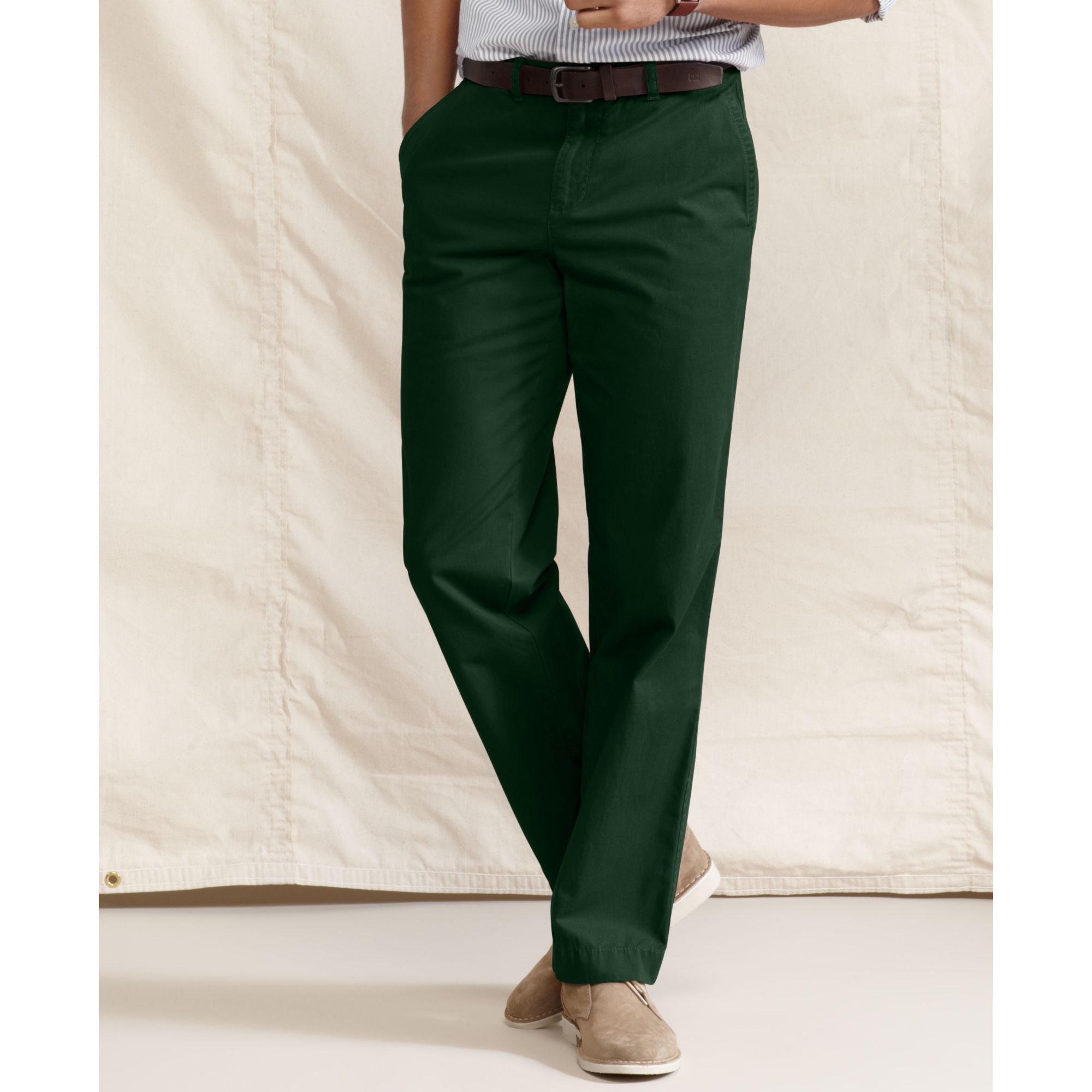 b9dd63611 Tommy Hilfiger Graduate Slim Fit Chino Pants in Green for Men - Lyst