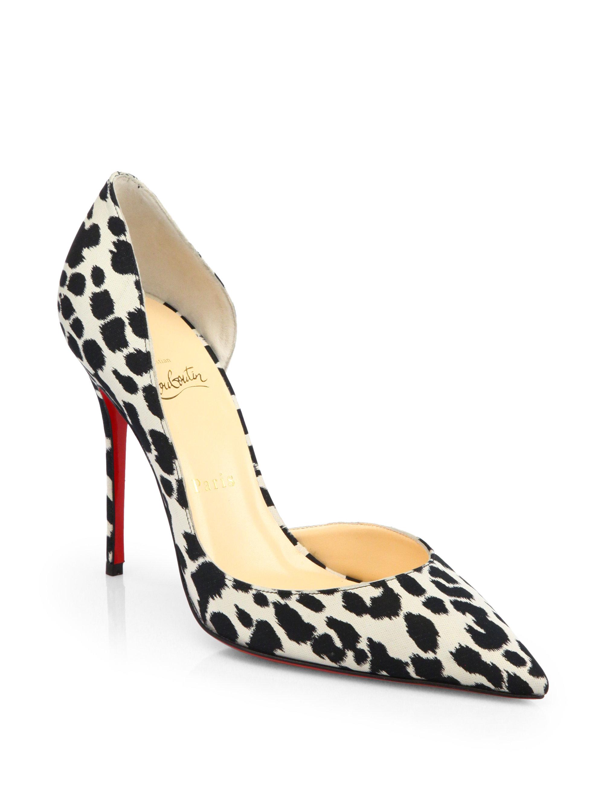 Artesur ? christian louboutin peep-toe pumps Metallic, black and ...