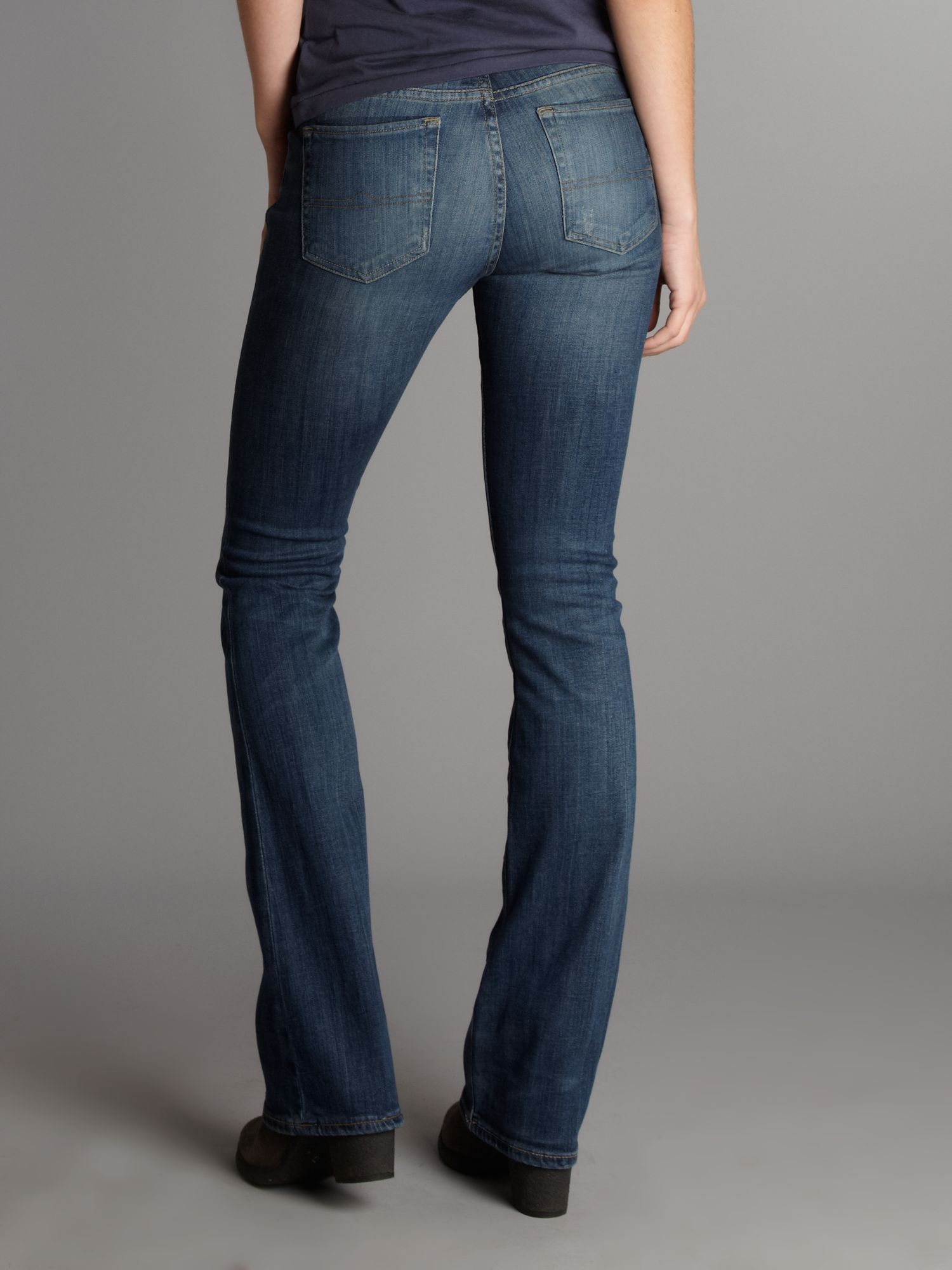 Denim & supply ralph lauren Slim Bootcut Jean in Blue | Lyst