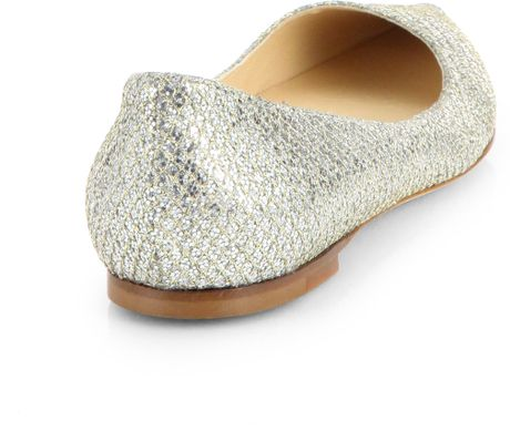 Glitter Pointed Flats Point-toe Ballet Flats in