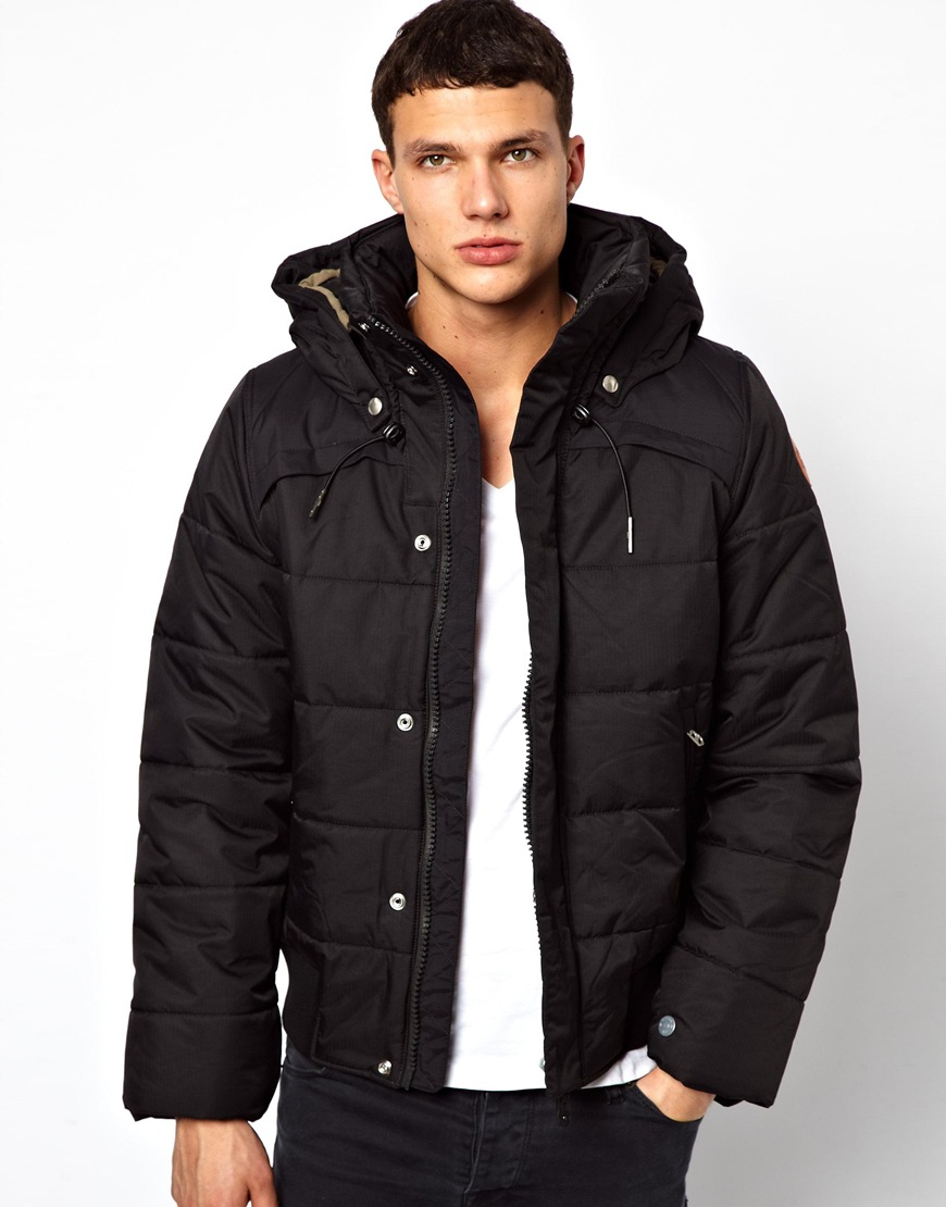 G Star Raw Quilted Bomber Jacket Whistler Nylon Hooded In
