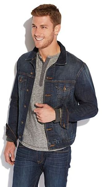 Good pieces to wear with denim jacket?  malefashionadvice