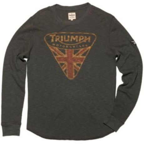 Lucky Brand Triumph Badge In Black For Men Black Mountain