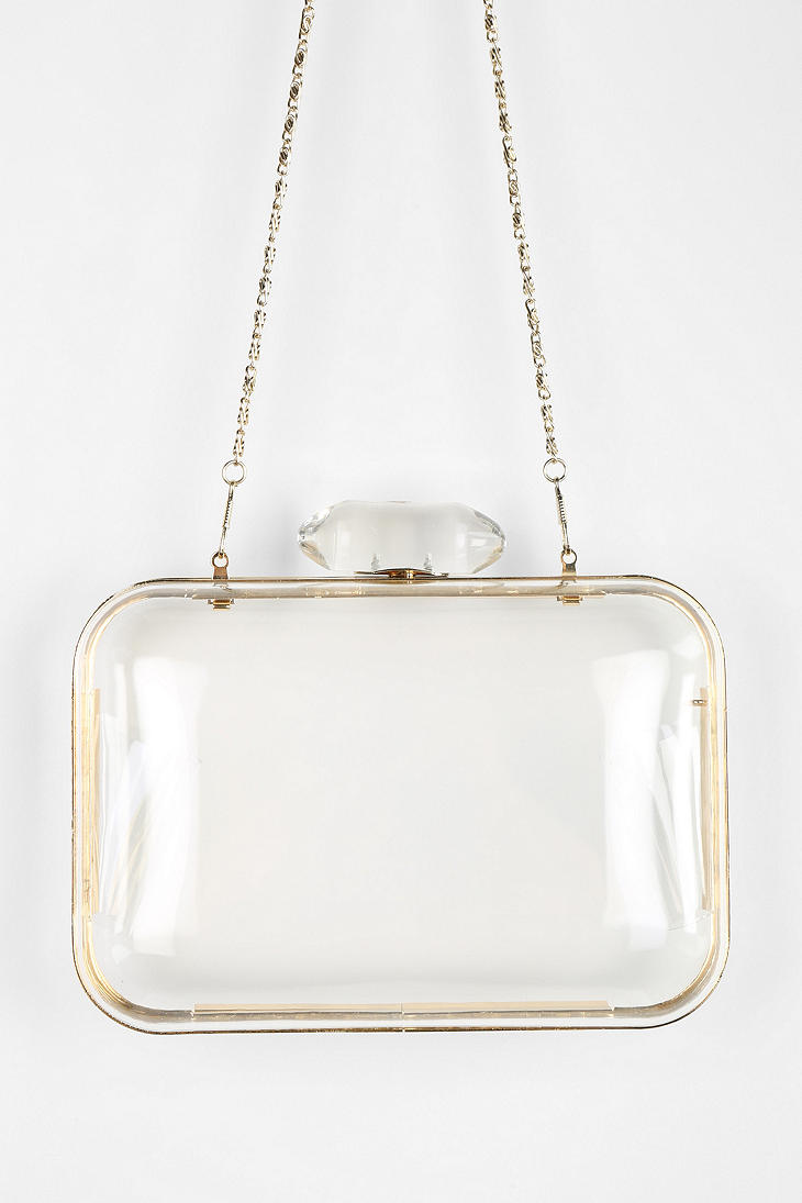 Urban outfitters I See You Clear Hardcase Shoulder Bag | Lyst