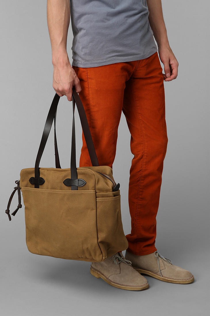 Lyst Urban Outfitters Filson Zip Tote Bag In Brown For Men