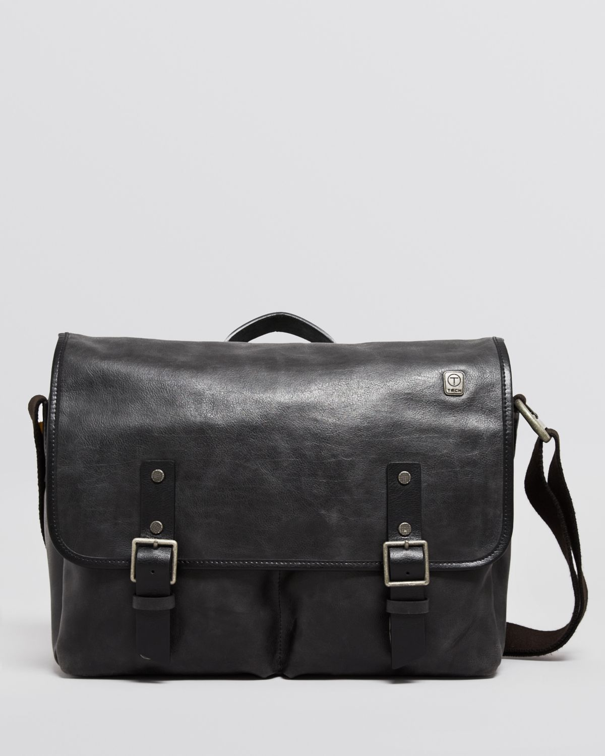 T-tech by tumi Tumi T-Tech Forge Bingham Messenger Bag in Black ...