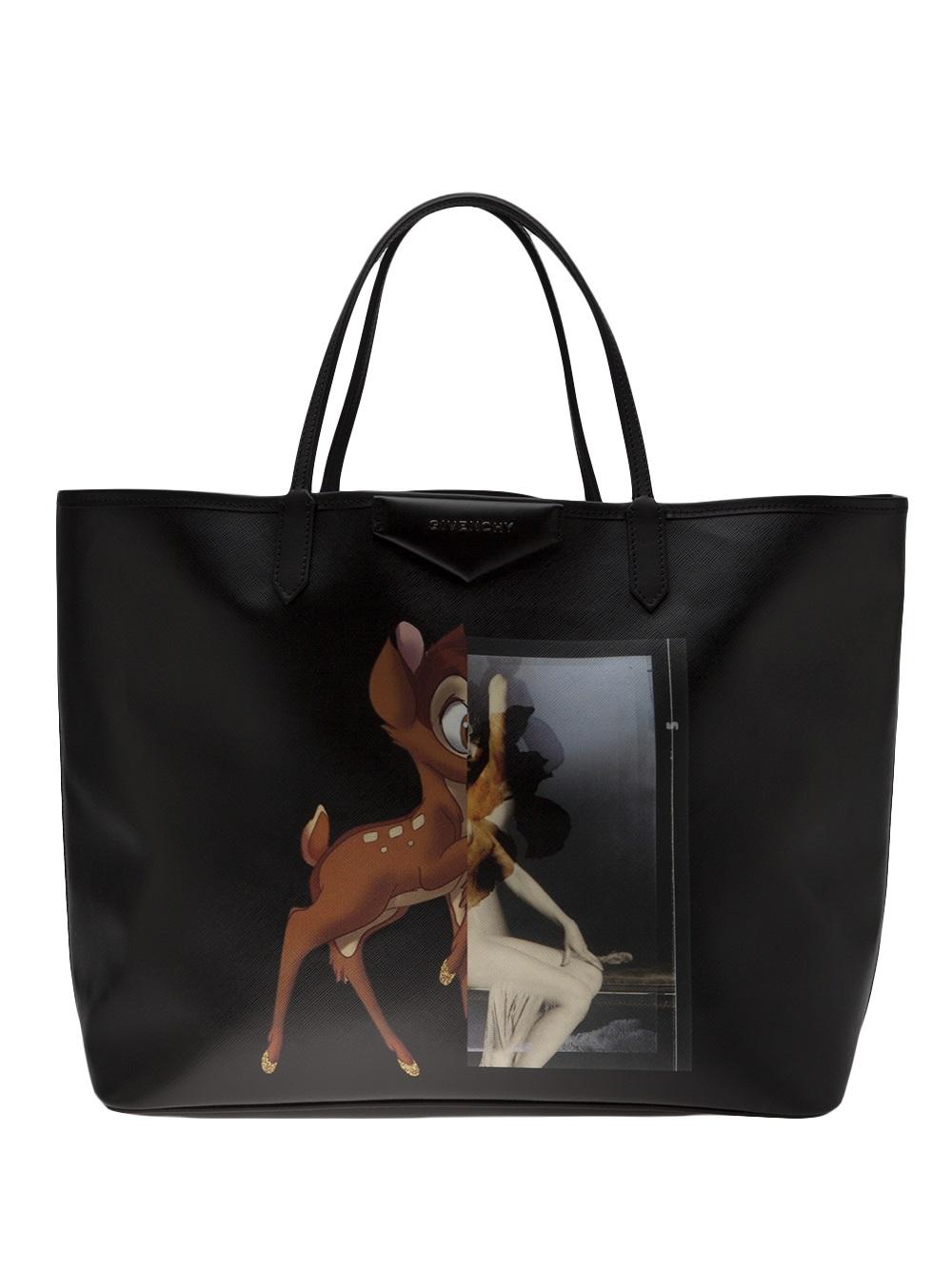 b689c63265 Givenchy Antigona Bambi Shopper in Black - Lyst