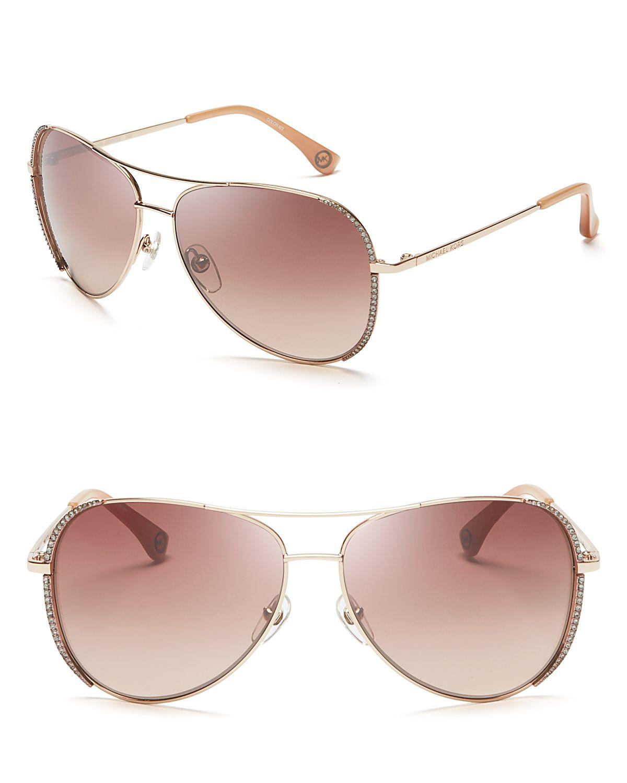 10babb9069 Michael Kors Sadie Sunglasses Rose Gold