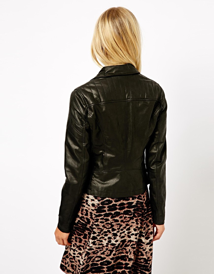 Leather jacket new look - Gallery