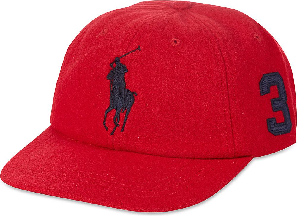 Ralph Lauren Classic Polo Cap in Red for Men - Lyst 46ba2c1df5f