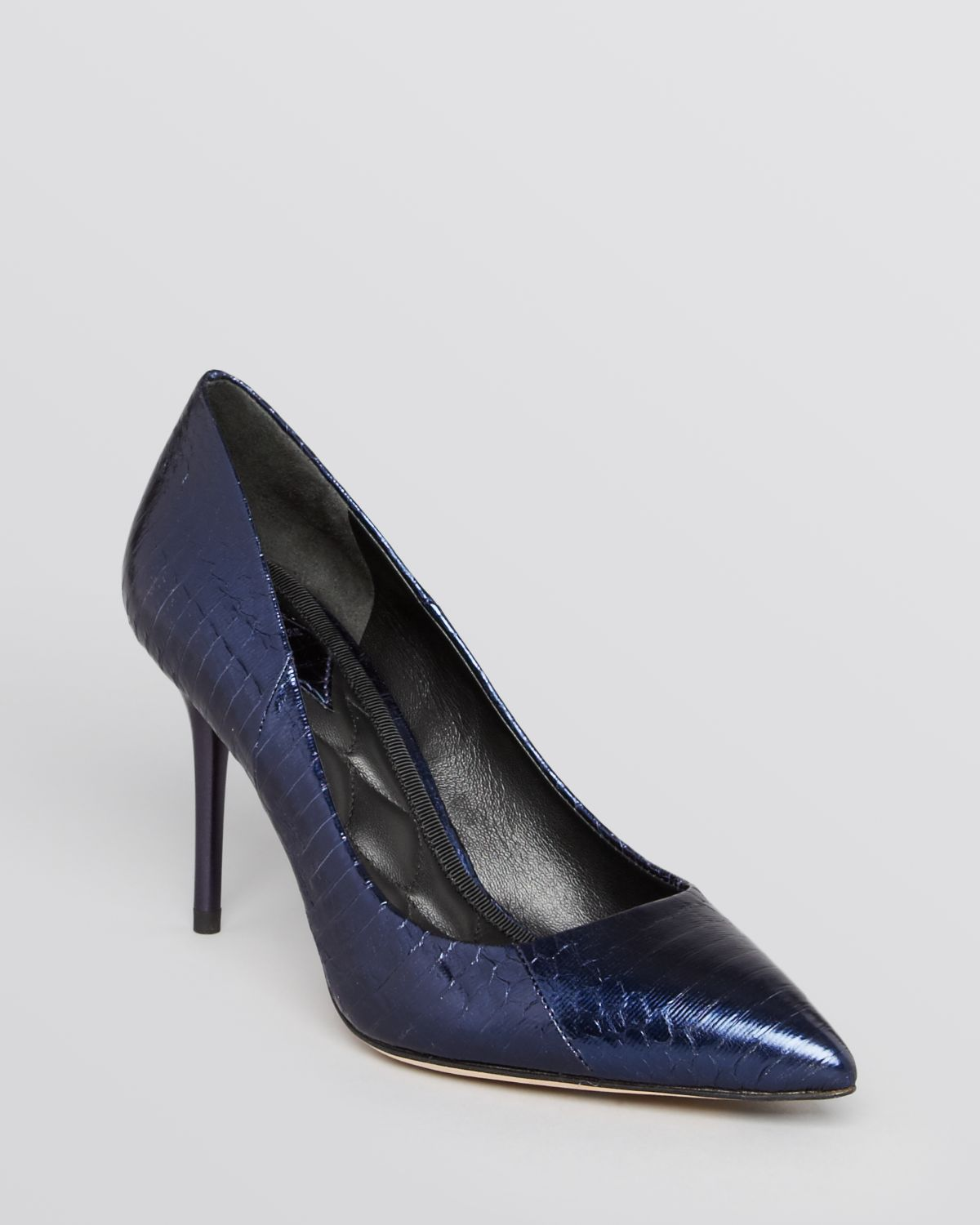 B brian atwood Pointed Toe Pumps - Malika High Heel in Blue | Lyst