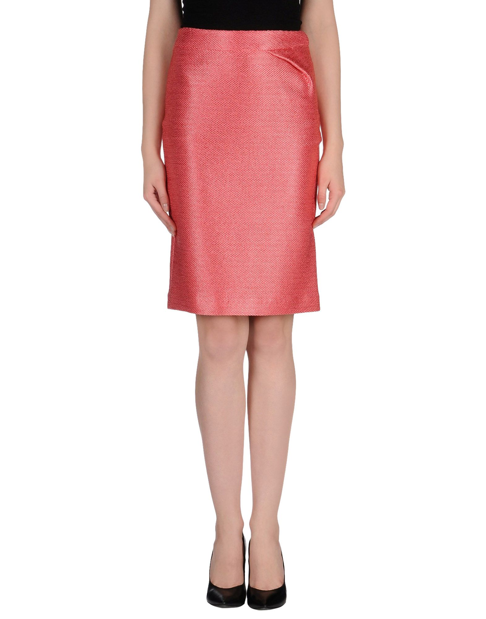 fendi knee length skirt in pink save 52 lyst