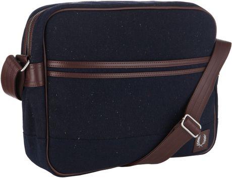 Flecked Wool Shoulder Bag 52