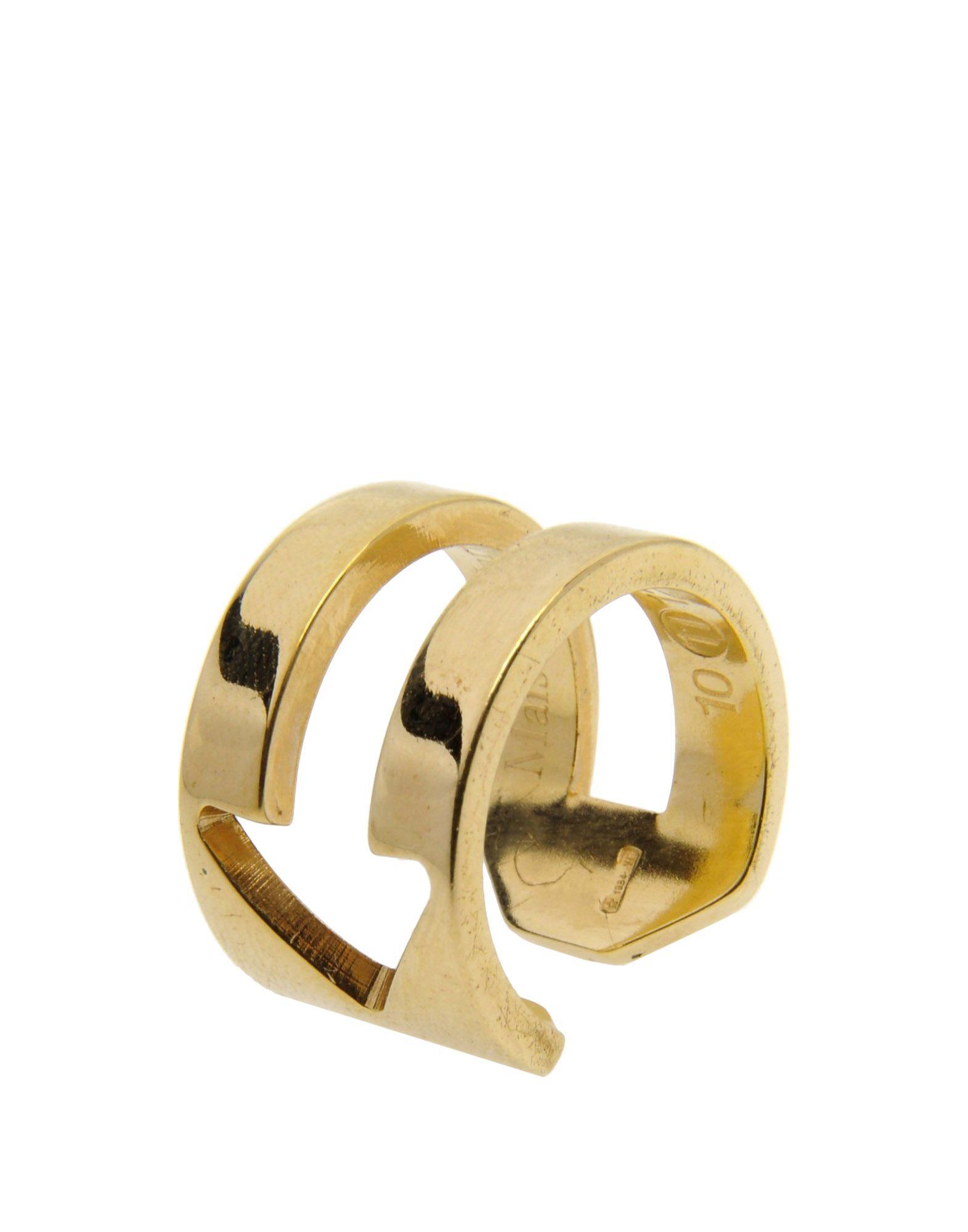 maison martin margiela ring in gold lyst. Black Bedroom Furniture Sets. Home Design Ideas