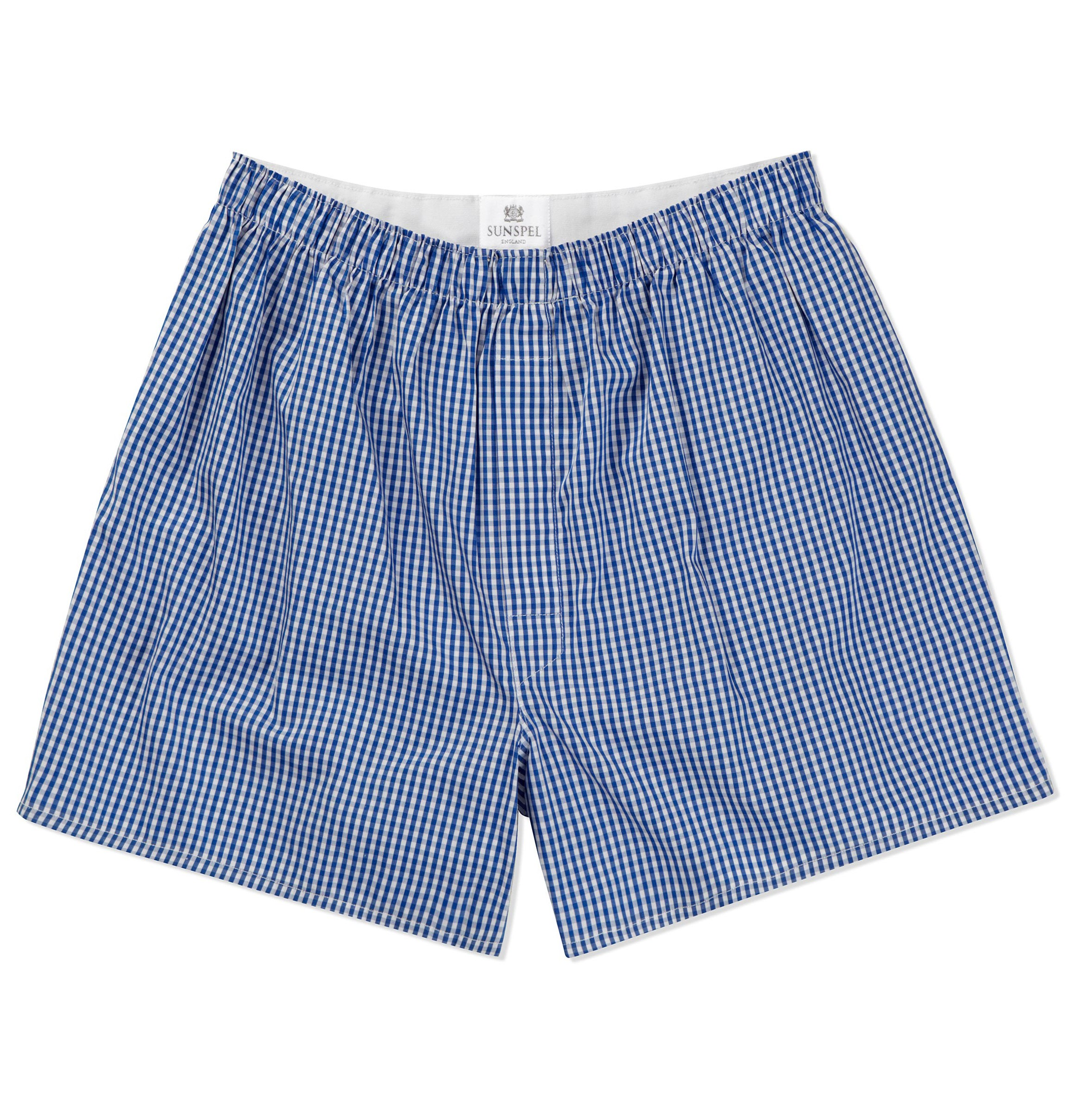 Sunspel Classic Cotton Boxer Shorts In Blue For Men Lyst