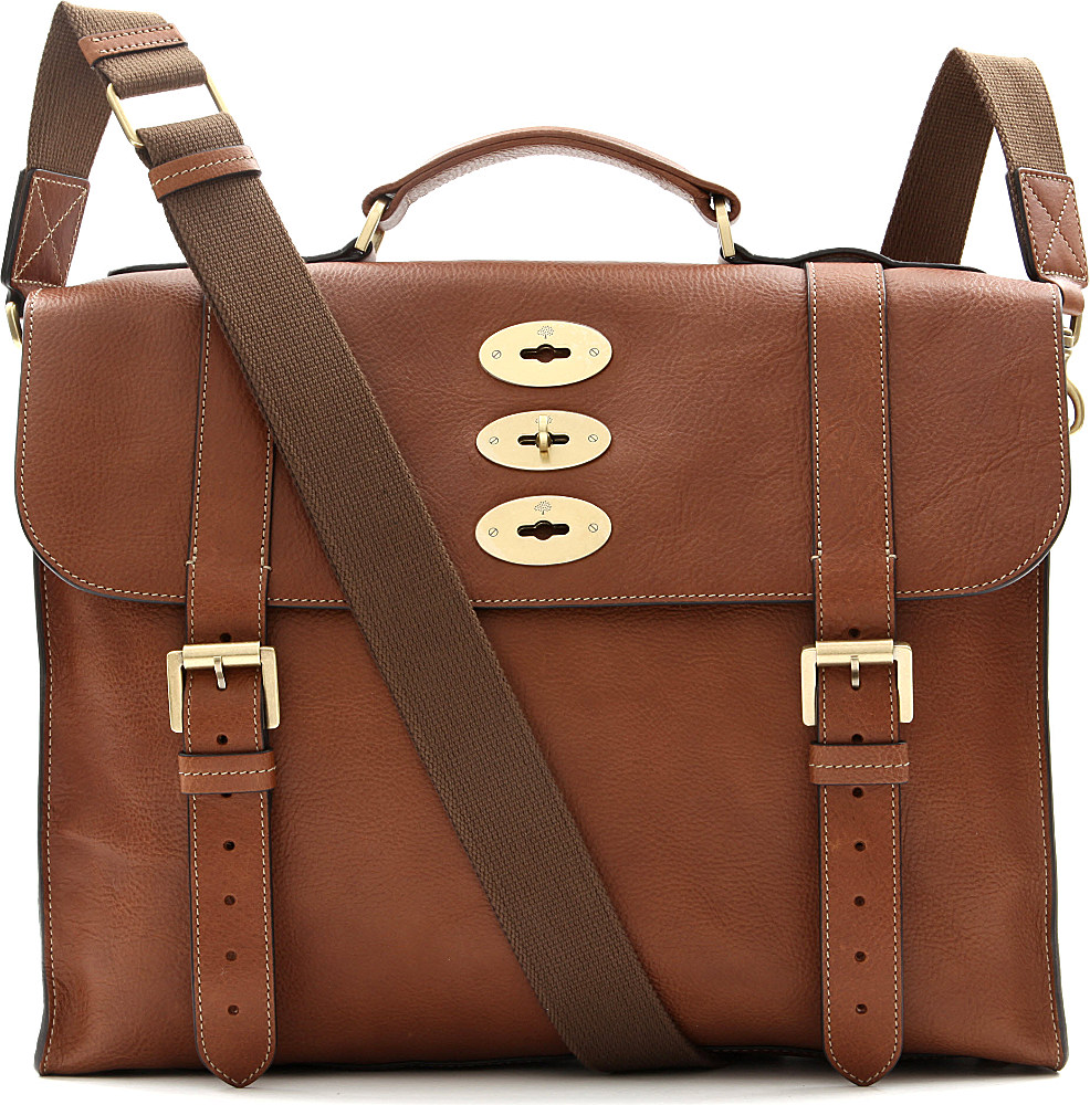 ce3ce0c0b3 ... clearance lyst mulberry ted cross body bag in brown for men 8e120 1a682