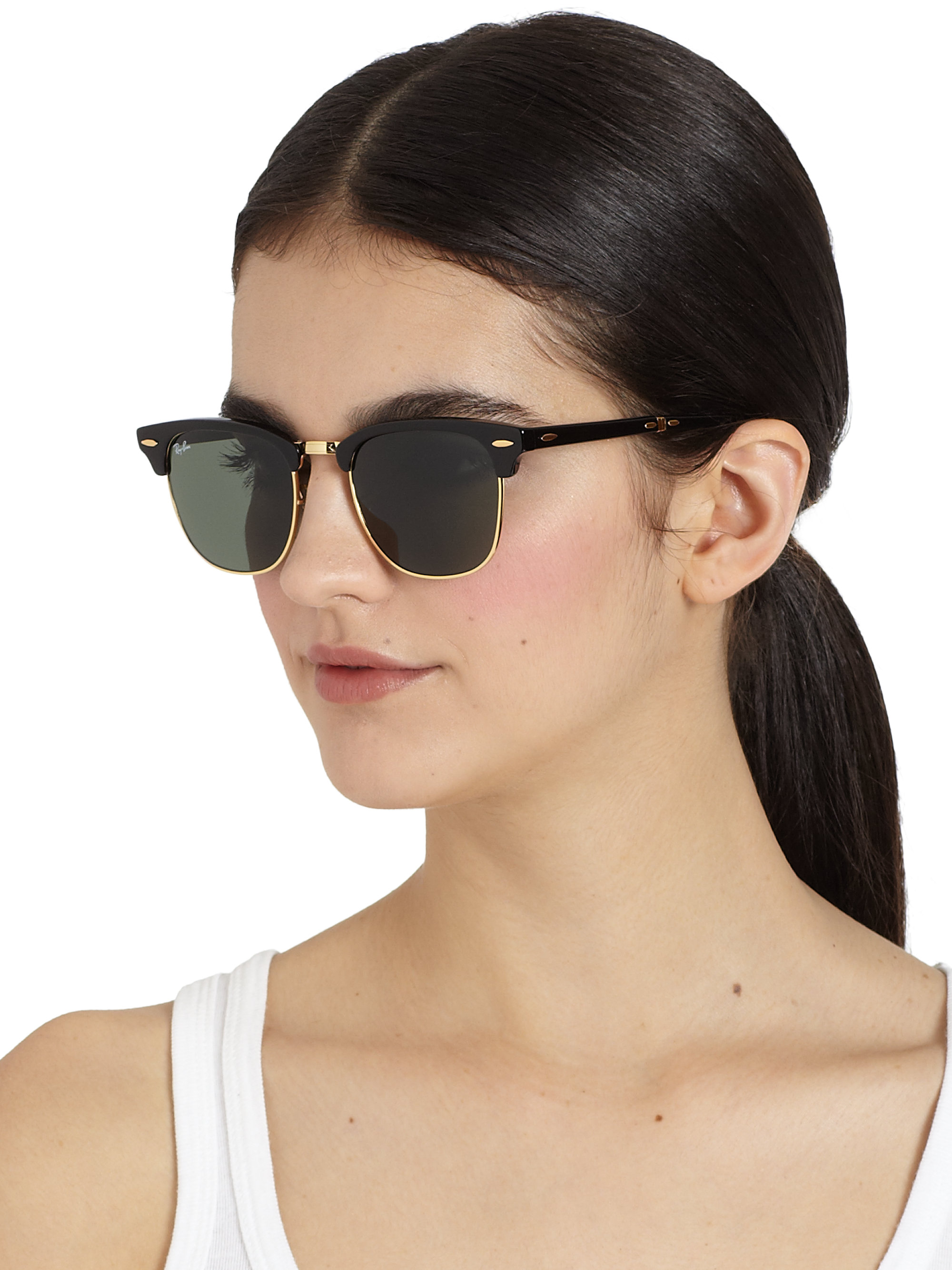d9bcc8eae3 ... where can i buy gallery. previously sold at saks fifth avenue womens clubmaster  sunglasses womens new zealand dupes ray ban ...
