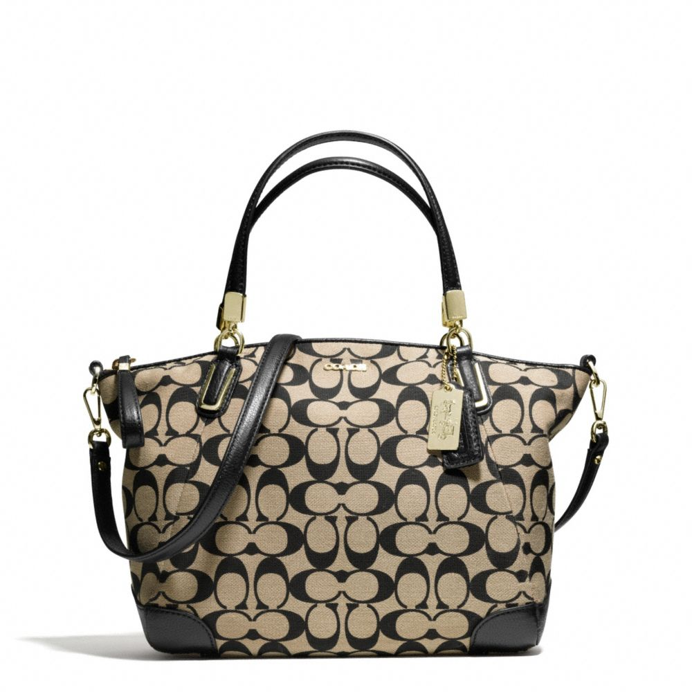 Lyst Coach Madison Small Kelsey Satchel In Printed