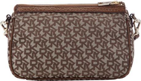 Dkny Beekman Top Zip Shoulder Bag Brown 34