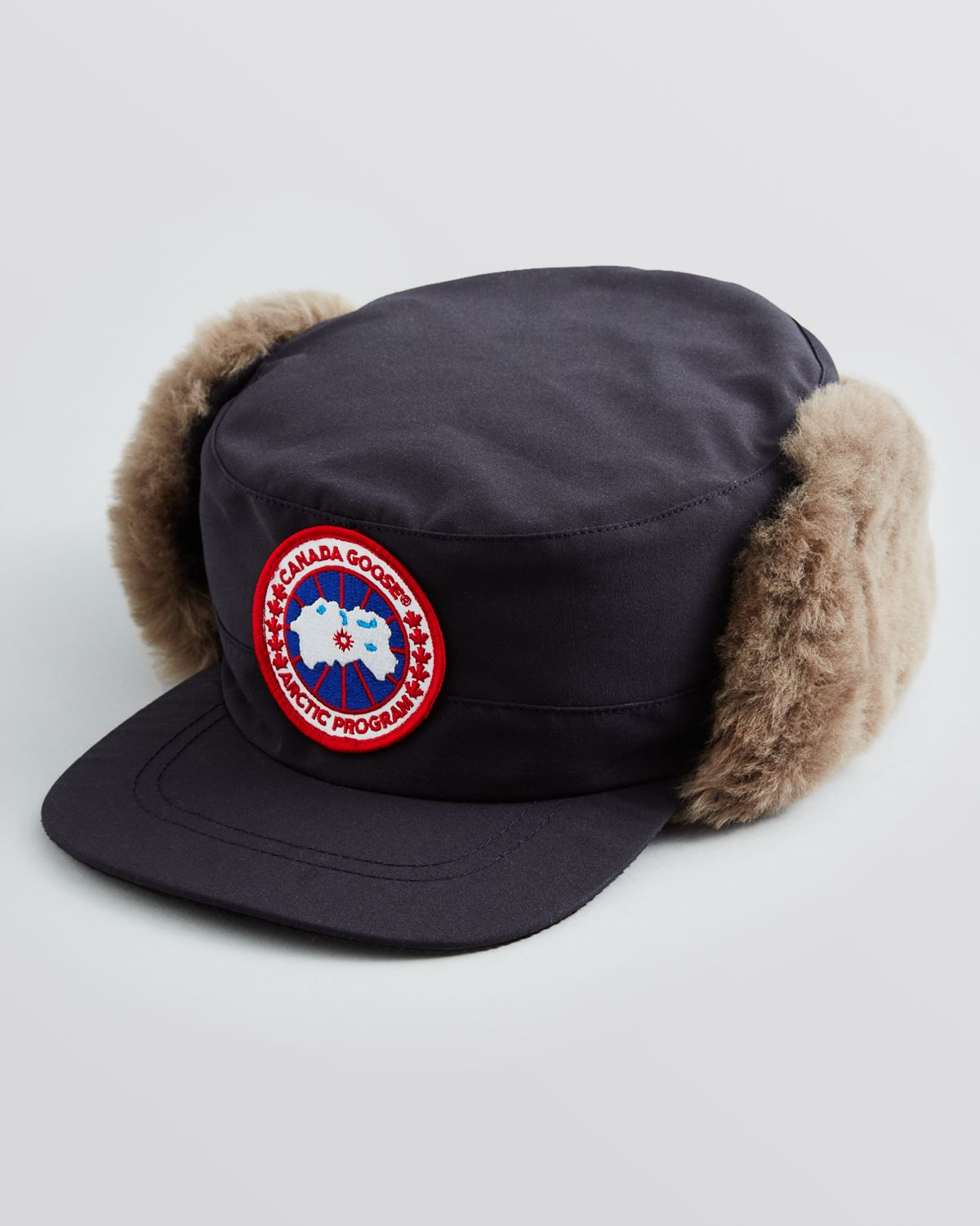 Lyst - Canada Goose Classique Shearling Hat in Blue for Men 02beef5559b