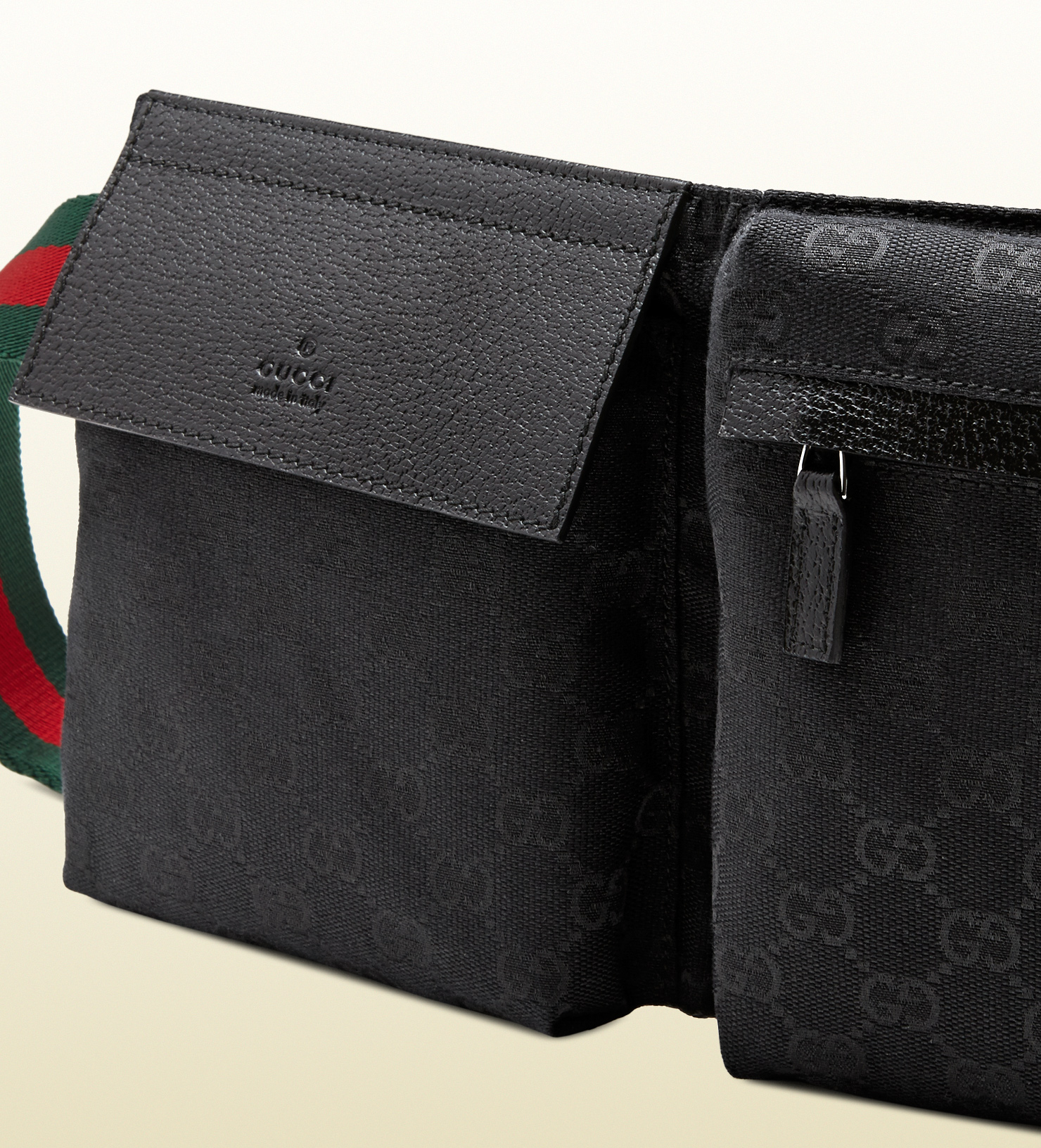 bc619025cf0c1 Lyst Gucci Original Gg Canvas Belt Bag In Black For Men