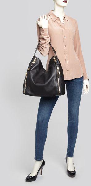 France Michael Kors Naomi Satchels - Bags Michael Kors Shoulder Bag Miranda Zip Optic White